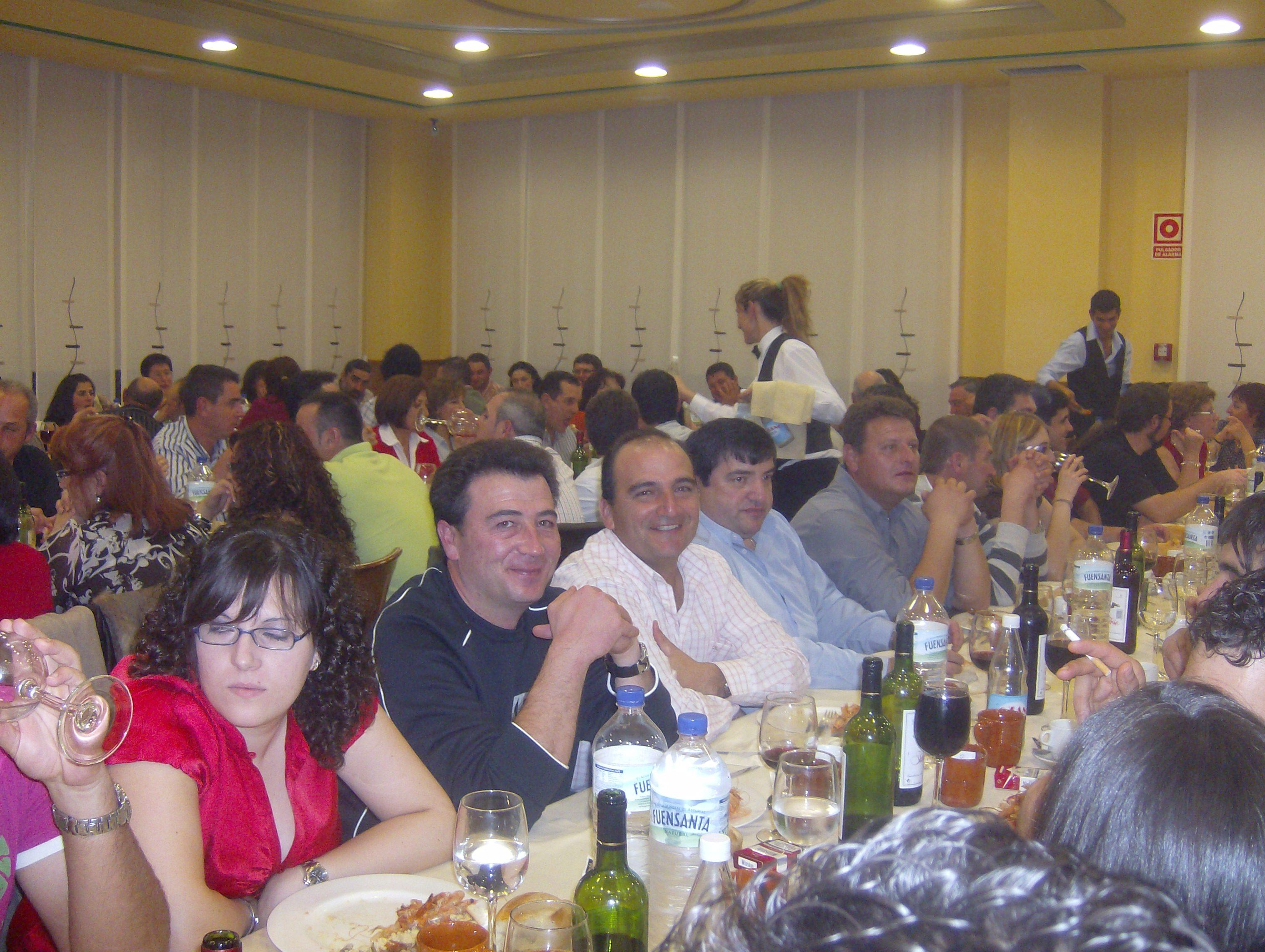 Otra foto de la cena
